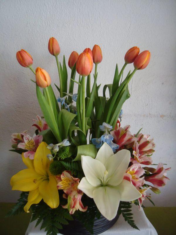 tulipanes-con-lilis